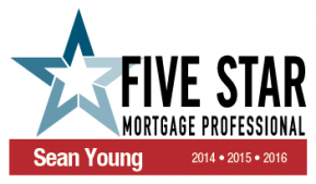 2015 Five Star Mortgage Professional Sean Young