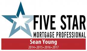 2017 Five Star Mortgage Professional Sean Young